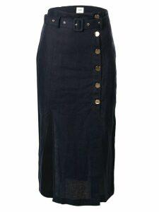 Suboo Manny utility midi skirt - Blue