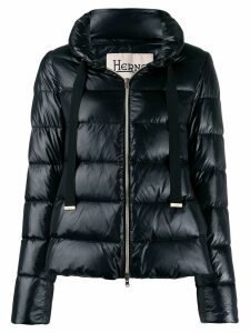 Herno panelled puffer jacket - Black