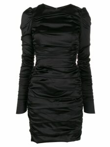 Dolce & Gabbana ruched detail dress - Black