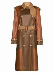 Burberry Gifford collared belted trench coat - Brown