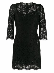 Dolce & Gabbana lace short dress - Black