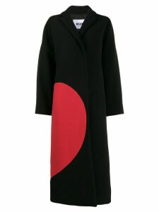 MSGM broken heart coat - Black