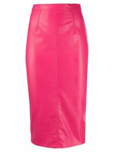 Elisabetta Franchi fitted pencil skirt - Pink