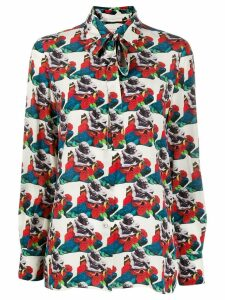 Valentino graphic print shirt - White