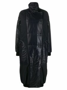 Givenchy oversized high neck quilted parka - Black