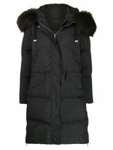 Moorer Enia padded coat - Black