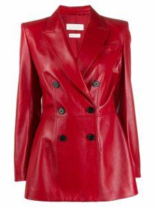 ALEXANDER MCQUEEN double breasted blazer - Red