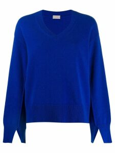 MRZ V-neck jumper - Blue