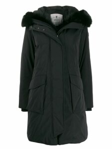 Woolrich padded parka coat - Black