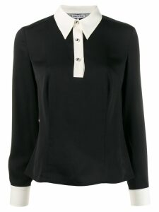 Tommy Hilfiger two tone blouse - Black