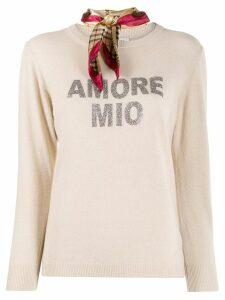 5 Progress Amore Mio knitted jumper - Neutrals