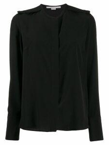 Stella McCartney epaulette long-sleeve blouse - Black