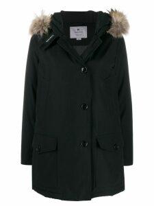 Woolrich hooded parka coat - Black