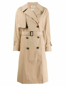 Jovonna Nava trench coat - NEUTRALS
