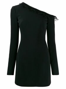 David Koma one shoulder dress - Black