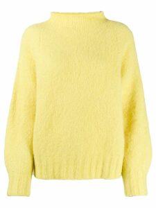 Equipment slub knit jumper - Yellow