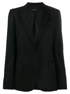 Theory one-button blazer - Black