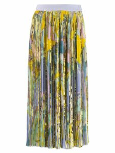 Emilio Pucci sequinned printed skirt - Yellow