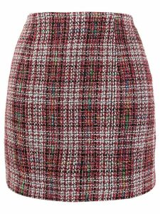 Jovonna Gilot tweed skirt - Red