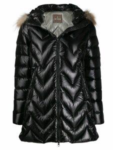 Hetregò hooded padded coat - Black