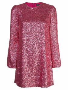 Jill Jill Stuart sequinned mini dress - Pink