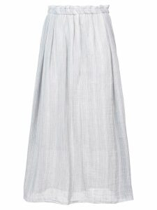 Lemlem striped a-line skirt - Grey