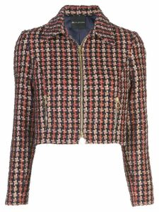 Jill Jill Stuart cropped tweed jacket - Multicolour