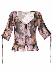 We Are Kindred Stevie sweetheart blouse - Black