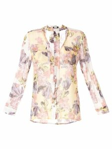 We Are Kindred Isadora spliced shirt - Multicolour