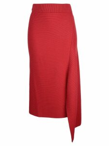 Tibi ribbed knit sweater - Red