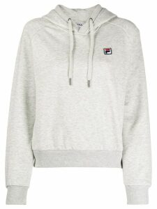 Fila embroidered logo hoodie - Grey