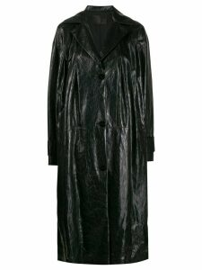 Drome button-up coat - Black