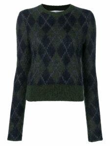 Victoria Beckham round neck jumper - Green