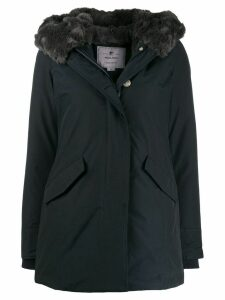 Woolrich hooded parka coat - Blue
