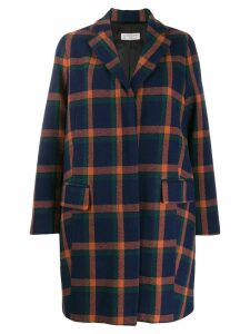 Alberto Biani checked jacket - Blue