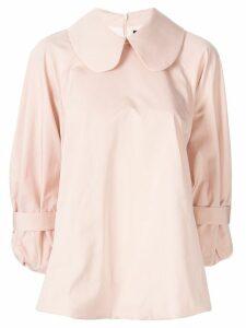 Simone Rocha Peter Pan collar blouse - Pink