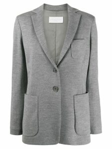 Fabiana Filippi casual single breasted blazer - Grey