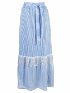 Lemlem Zinab wrap skirt - Blue