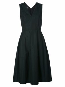 Narciso Rodriguez V-neck flared dress - Black