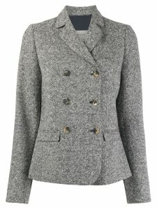 Holland & Holland double-breasted fitted blazer - Black