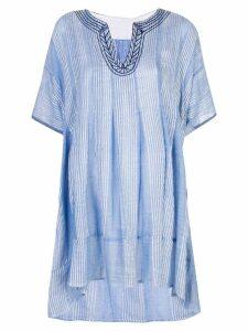 Lemlem Zinab smock dress - Blue