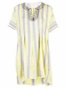 Lemlem Amira smock dress - Yellow