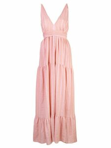 Lemlem Taytu maxi sun dress - Pink