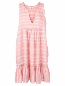 Lemlem Taytu bib dress - Pink