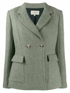 Holland & Holland double-breasted fitted blazer - Green