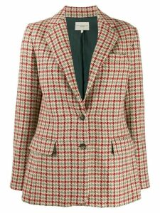 Holland & Holland houndstooth fitted blazer - Neutrals