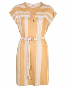 Lemlem Derartu tunic dress - Brown