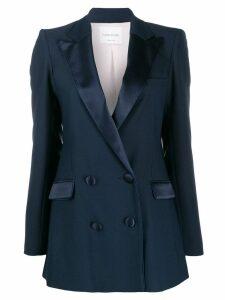 Hebe Studio peaked lapel blazer - Blue