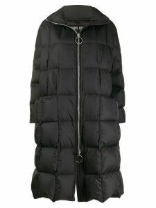 Ienki Ienki padded long-line coat - Black