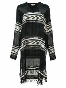 Lemlem Maya hooded kaftan - Black